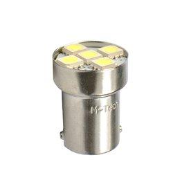 Diodo LED L075 Ba15s G18 5xSMD5050 bianco