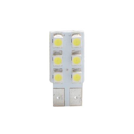 Diodo LED L083 W5W 6xSMD3528 bianco