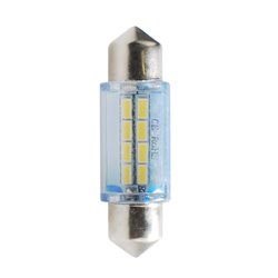 Diodo LED L085 C5W 36mm 8xSMD bianco