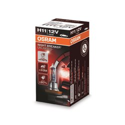 Lampada alogena OSRAM NIGHT BREAKER® UNLIMITED H11 55W PGJ19-2 12V