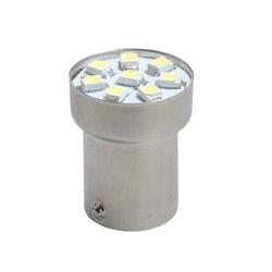 Diodo LED L088 BA15s G18 8xSMD3528 bianco