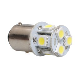 Diodo LED L089 BAY15d 8xSMD5050 bianco