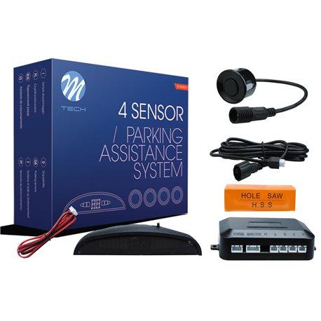 Kit sensori di parcheggio CP5 21,5mm 4X nero