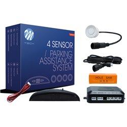Kit sensori di parcheggio CP5 21,5mm 4X bianco