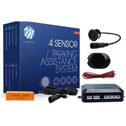 Kit sensori di parcheggio CP6 21,5mm 4X nero