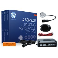 Kit sensori di parcheggio CP6 21,5mm 4X argento
