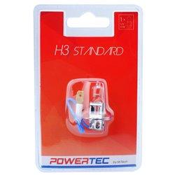 Lampada alogena Powertec STANDARD H3 lampada 12V Blister