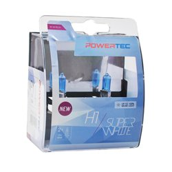 Lampada alogena Powertec SuperWhite H1 lampada 12V DUO