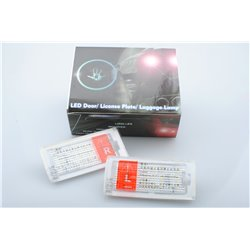 Luci targa a LED BMW 3 E46 Coupe / Cabrio (2003-2007)