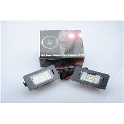 Luci targa a LED Audi A4 4D/5D 08-