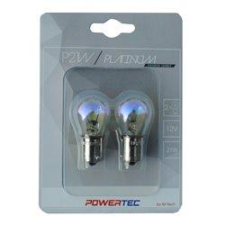 Lampada alogena Powertec P21W S25 12V 21W BA15s Arcobaleno
