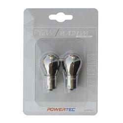 Lampada alogena Powertec PY21W S25 12V 21W BAU15s Chrome