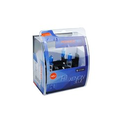 Lampada alogena Powertec Xenon Blue H1 12V DUO