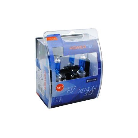 Lampada alogena Powertec Xenon Blue H7 12V DUO