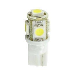 Diodo LED L954 W5W 5xSMD5050 24V bianco