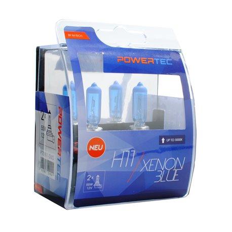 Lampada alogena Powertec Xenon Blue H11 12V DUO