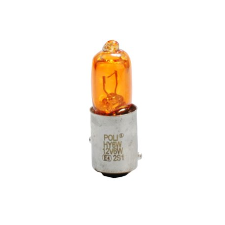 Lampada alogena M-TECH HY6W BAX9S 12V/6W Arancione