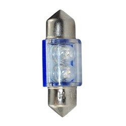 Diodo LED L025 C5W 31mm 2LED blu