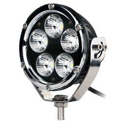 """Fari di profondità LED CREE 50W 4"""" rotondo Chrome"""