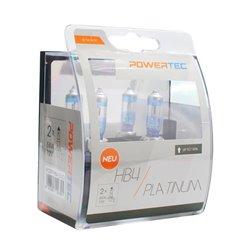 Lampada alogena Powertec Platinum +130% HB4 12V DUO