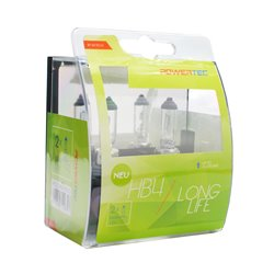 Lampada alogena Powertec Long Life HB4 12V DUO