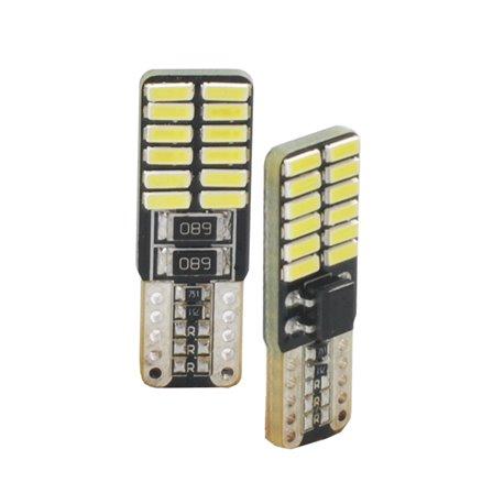 Diodo LED L352 W5W 24xSMD3014 CANBUS bianco
