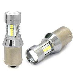 Diodo LED L097 Ba15s 21xSMD3014 6W 12-24V bianco