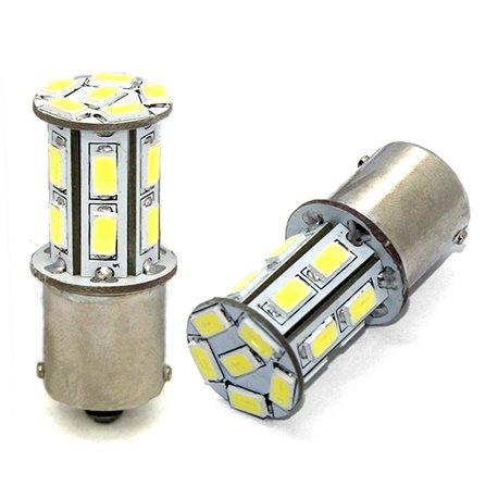 Diodo LED L101 BA15s 18xSMD5630 12V bianco