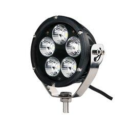 """Fari di profondità LED CREE 50W 4"""" rotondo nero"""
