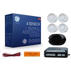 Kit sensori di parcheggio CP17 18mm 4X bianco