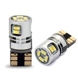 Diodo LED L353 W5W 10xSMD3014 CANBUS bianco