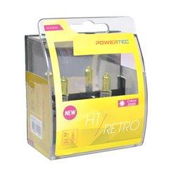 Lampada alogena Powertec Retro H1 12V DUO