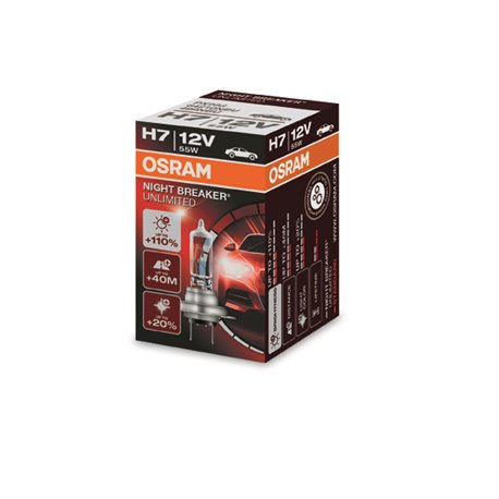 Lampada Alogena Osram Night Breaker Unlimited H7
