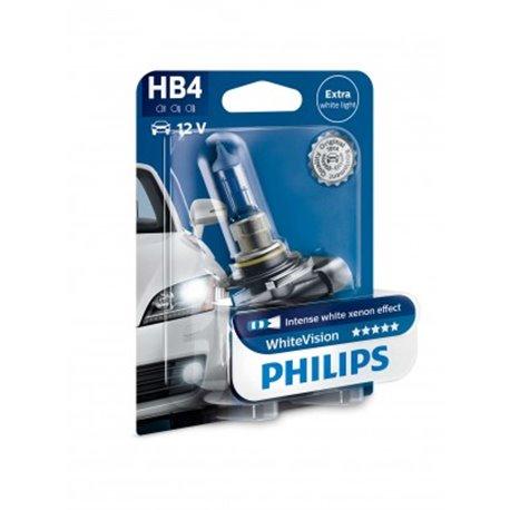 Lampada alogena Philips HB4 WhiteVision P22d 12V