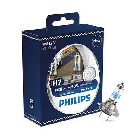 Lampada alogena Philips H7 RacingVision PX26d 12V 55W