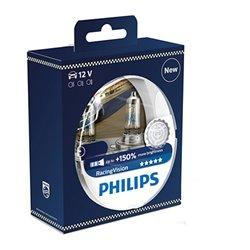 Lampada alogena Philips H4 RacingVision P43t-38 12V 60/55W S2