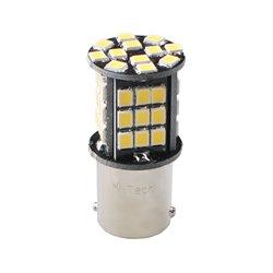 Diodo LED L348 Ba15s 18xSMD5050 CANBUS 12V bianco