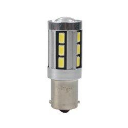 Diodo LED L355 Ba15s 18xSMD5730 CANBUS 12V bianco