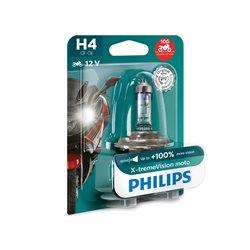 Lampada alogena Philips H4 X-tremeVision Moto P43t-38 12V 60/55W