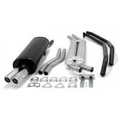Sistema di scarico 2x70 per BMW Serie 3 E30 320i / 323i / 325i E30 6-Cil.