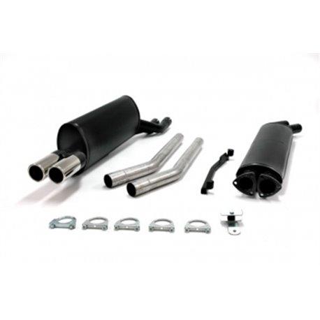 Sistema di scarico 2x70 per BMW 520i / 525i / 528i / iA / 628CSi E28 / E24