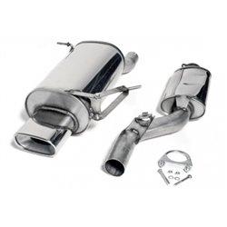 Sistema di scarico in acciaio Inox 70x140 BMW Serie 3 Z3 E36 16V