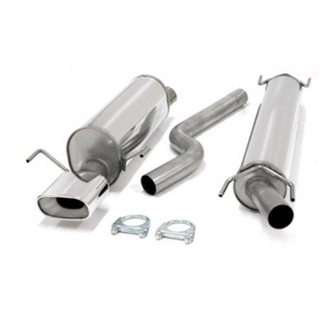 Sistema di scarico in acciaio Inox 1x85x150 Opel Astra G Turbo