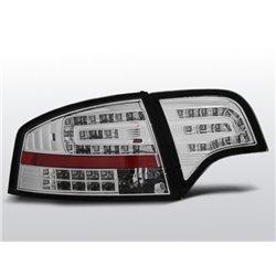 Coppia fari Led posteriori Audi A4 B7 04-08 berlina Chrome