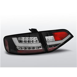 Coppia fari Led Bar posteriori Audi A4 B8 08-11 berlina Neri