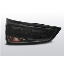Coppia fari Led Bar posteriori Audi A1 2010- Fume