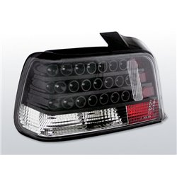 Coppia fari Led posteriori BMW Serie 3 E36 berlina 90-99 Neri