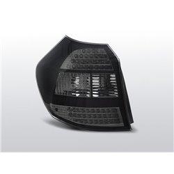 Coppia fari Led posteriori BMW Serie 1 E81-E87 04-07 Neri