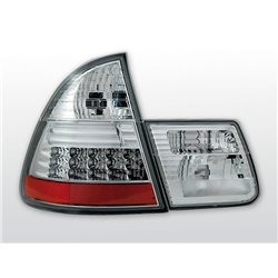 Coppia fari Led posteriori BMW Serie 3 E46 touring 99-05 Chrome