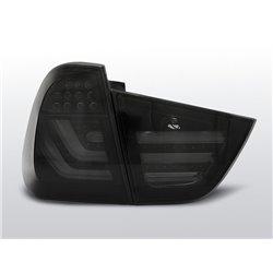 Coppia fari Led posteriori BMW Serie 3 E91 09-11 Neri